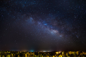 Milky Way. Taken with a Canon 6D and Rokinon 24mm f/1.4