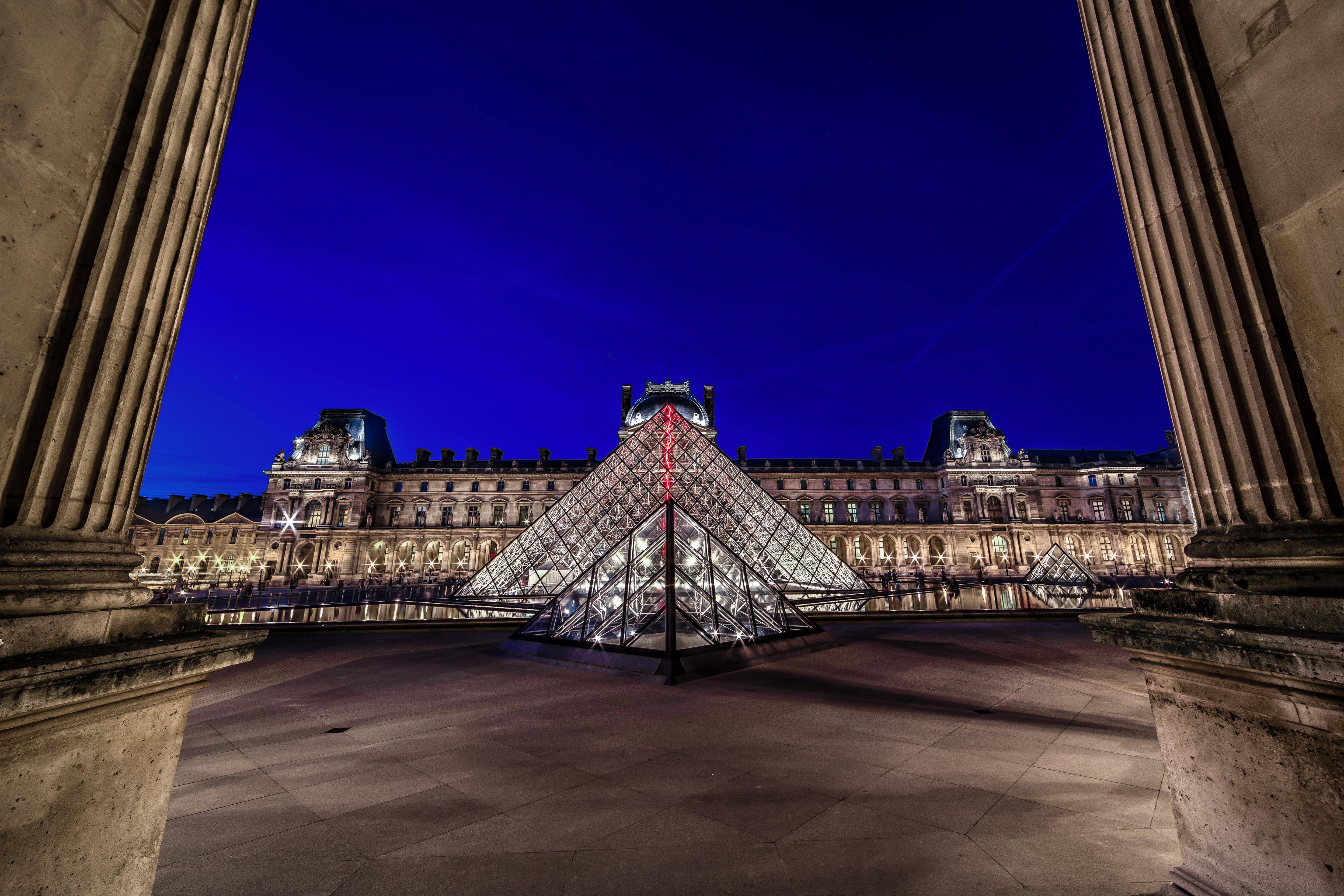Louvre At Night by Darwin. Taken with a Canon 6D and Rokinon 14mm f/2.8