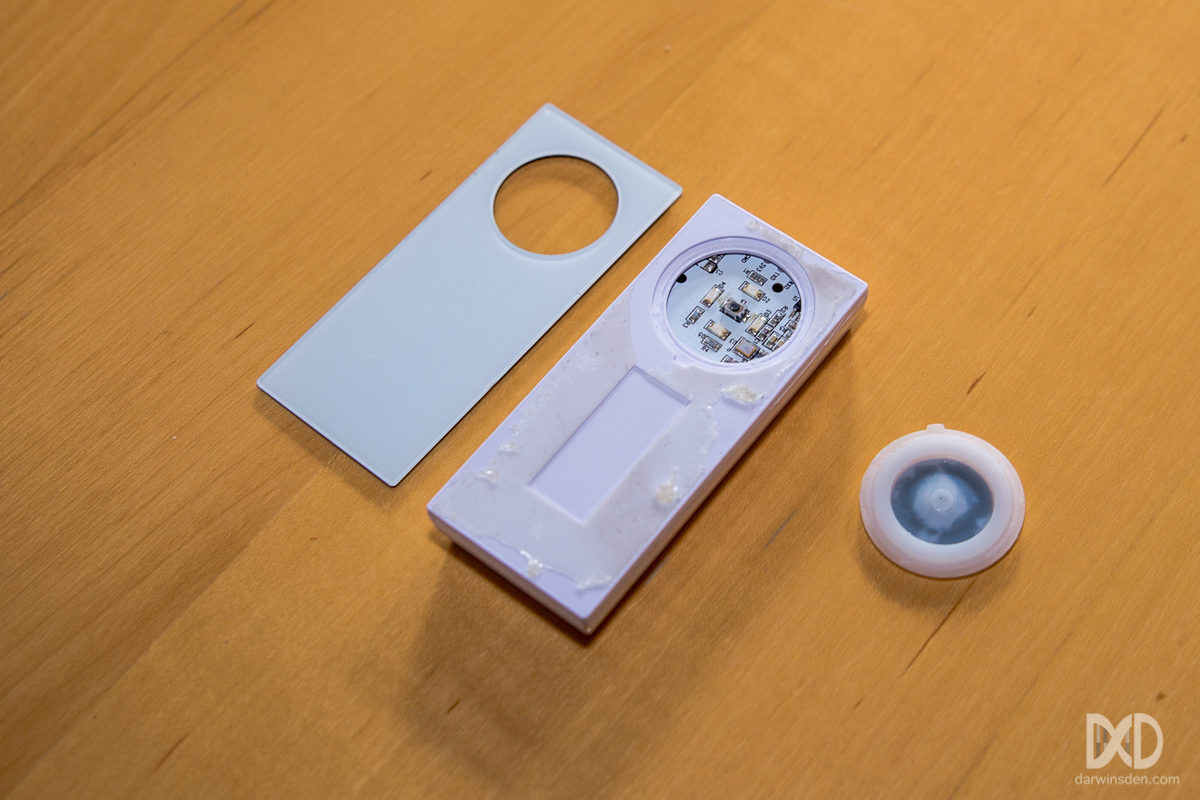 Aeon Labs Aotec Doorbell ZW056 dis-assembled