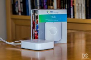 The Samsung SmartThings V2 Hub