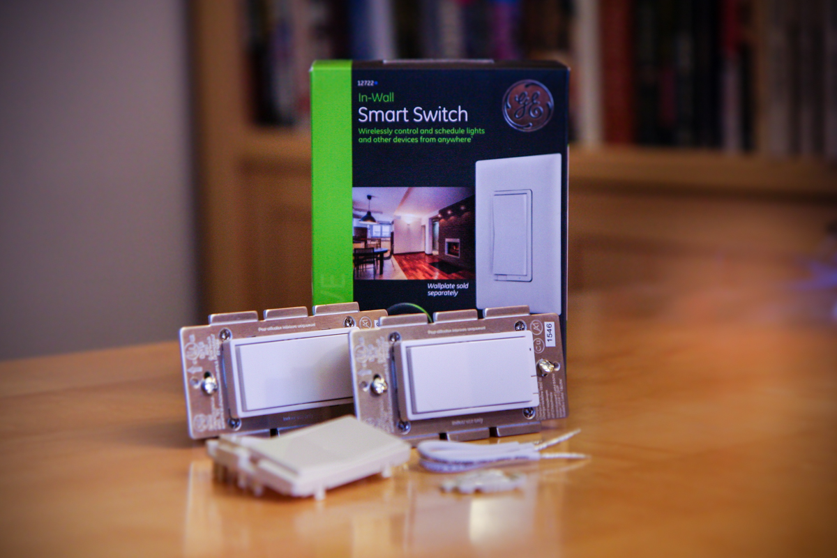 GE In-Wall Smart Switches and Dimmers