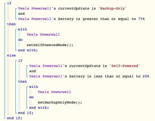 Powerwall WebCore Piston